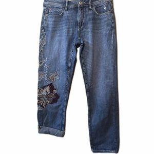 PILCRO Anthropologie Boyfriend Jeans, Size 27